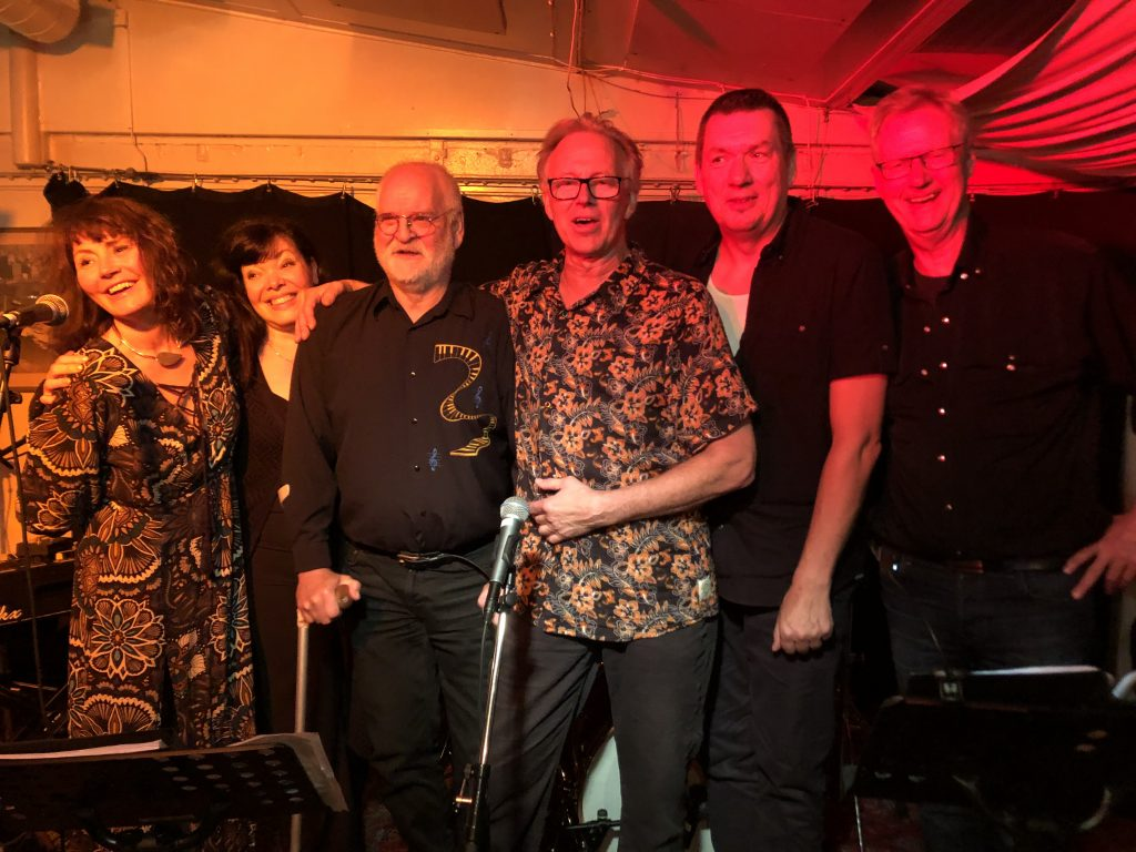 Berras Blues Orkester XL grupp