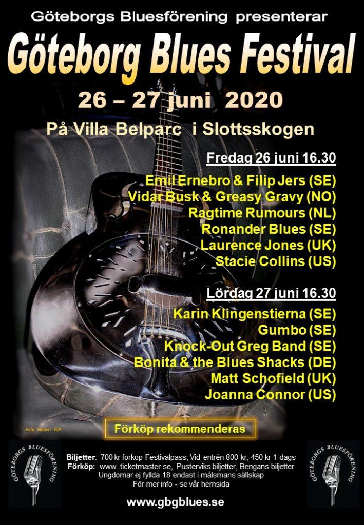 Göteborg Blues Festival 2020