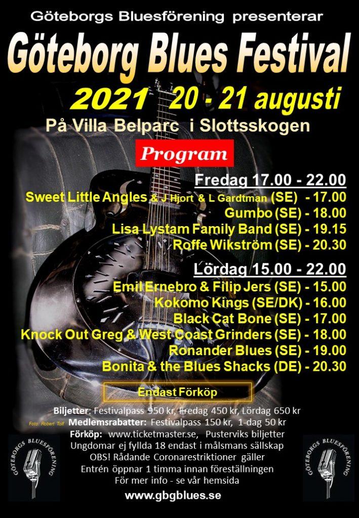 Göteborg Blues Festival 2021
